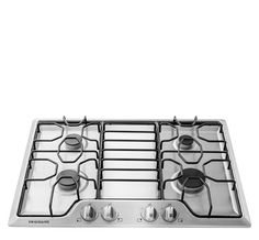 frigidaire gallery 30in 5burner gas cooktop stainless steel kitchen appliances u003e cooktops pinterest stainless steel steel and 30th