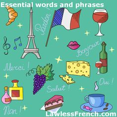 Essential French - https://www.lawlessfrench.com/vocabulary/essential-french/