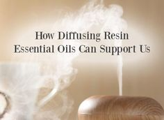 Diffusing Resin Essential Oils Can Strengthen Us - The Aromahead Blog