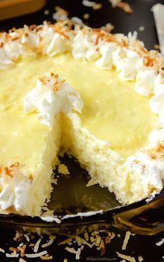 coconut-cream-pie| HollysCheatDay.com