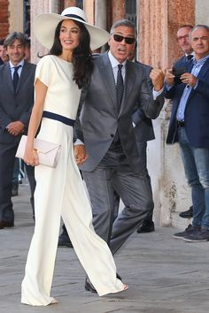 How to get married in style - Amal!