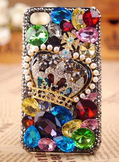 iPod Touch and iPhone 4S 3GS Crown Case Cover Gift