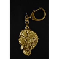 Top class handmade product from category Keyrings associated with dog breed St. Keyring- Gilded with gold trial Perfect gift remarkable precision of execution- masterfully Dog Lover Gifts, Dog Lovers, St Bernard Dogs, Dog Supplies, Bull Terrier, Handmade Gifts, Silver, Gold, Kid Craft Gifts