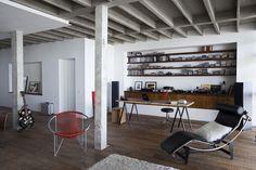 Virlova Interiorismo: [Interior] El poder del hormigón: loft contemporáneo en São Paulo