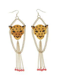 Feline earrings can never fail ;)