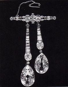 Queen Charlotte's Arcot Diamond Brooch