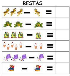 Fichas de sumas y restas: Tarjetas divertidas con operaciones matemáticas de sumas y restas. Ejercicios de matemáticas para repasar en clase o en casa