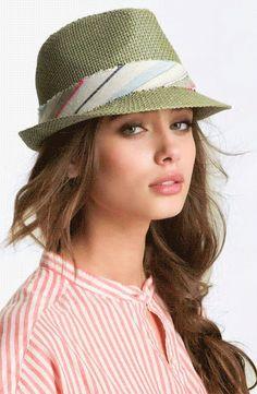 Capelli Stripe Band Fedora for summer summer summer outfits clothes style Summer Outfits, Cute Outfits, Summer Clothes, Floppy Hats, Fedora Hat, Straw Fedora, Stylish Hats, Love Hat, Cute Hats