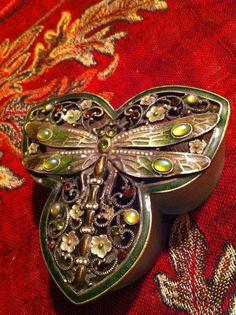 Dragonflies jewelry box
