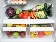 What to Store in Your Refrigerator Humidity Drawers