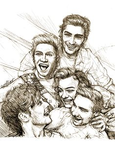 One Direction Fan Art, One Direction Cartoons, One Direction Drawings, One Direction Wallpaper, One Direction Quotes, One Direction Pictures, Harry Styles Dibujo, Harry Styles Drawing, Art Drawings Sketches