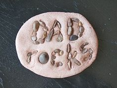 Fathers day craft....totally doing this with the rocks they have collected!