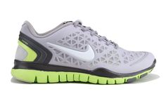 wholesale dealer 50f34 87990 Nike Free TR Fit 2 Stadium Grey Pure Platinum Lime Green Chaussure Nike Free,  Chaussures