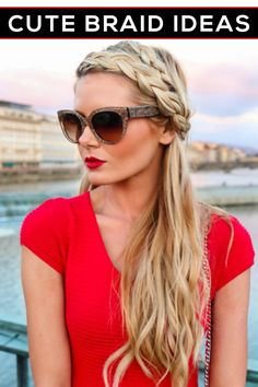 Cute braid ideas for back to school season! You'll love these gorgeous fall hairstyles.