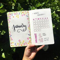 2017 was the year I learned lettering. And in 2018 I really really want to learn Bujo! So here's a collection of images of my first-ever planner and the evolution month by month. Please give me your feedback or ideas in the comments section below! Bullet Journal Books, Book Journal, Journal Ideas, Learning Letters, Try Something New, My Images, Bujo, Give It To Me, Lettering
