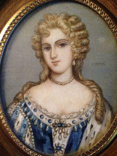 Portrait Miniature of Eleonore Jacques'II | eBay