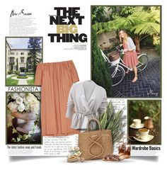 """""""The Next Big Thing"""" by thewondersoffashion ❤ liked on Polyvore featuring ADAM, Brunello Cucinelli, ViX, Steve Madden, Nest and Michael Kors"""