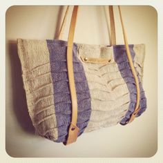 organic textured european linen tote // vegetable by ardenandjames, $90.00