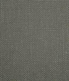 Smoke Charcoal Sultana Burlap Fabric | onlinefabricstore.net