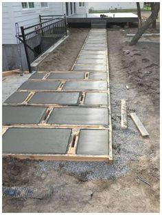 59 Stunning Front Yard Courtyard Landscaping Ideas – Page 5 – Ciara Decor - All For Garden Concrete Patios, Concrete Retaining Walls, Flagstone, Courtyard Landscaping, Small Backyard Landscaping, Backyard Patio, Landscaping Ideas, Backyard Ideas, Pool Ideas