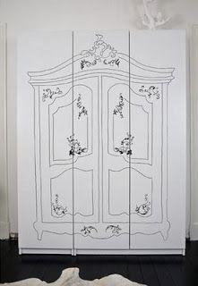 renovate + decorate: cute and easy idea