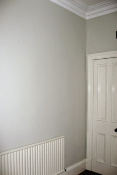 Farrow And Ball Shaded White In North Facing Room Hallway Paint Colors Neutral Wall