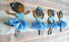 African American hand painted ballerina doll ornament wood | Etsy Baby Wall Art, Nursery Wall Art, Wood Wall Art, Ballerina Nursery, Ballerina Doll, Youth Decor, Dark Skin Girls, Doll Painting, Etsy Handmade