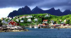 Thinking I may move tomorrow!  Reine, Nordland Fylke, NO