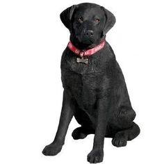 Life Size Large - Labrador Retriever, Black