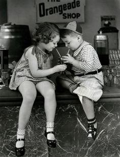 Spanky and Marianne Edwards ~ The Little Rascals