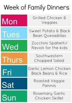 A Week of Gluten-Free Dinners - Kids Stuff World