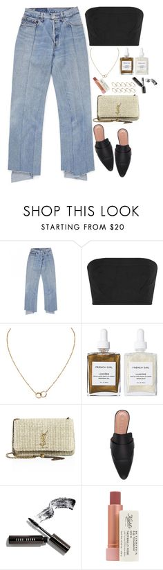 """Untitled #1932"" by samikayy76 ❤ liked on Polyvore featuring Calvin Klein Collection, Cartier, French Girl, Yves Saint Laurent, Marni, Bobbi Brown Cosmetics, Kiehl's and ASOS"