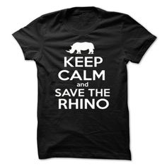 Save The Rhino T-Shirt & Hoodie | DonaShirts.com - Dare To Be Tshirts, Hoodies And Custom