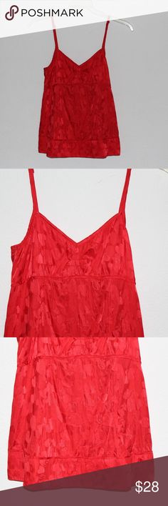 Marc by Marc Jacobs silky red heart printed top Silky spaghetti strap red heart printed tank from Marc Jacobs. Could be worn as lingerie, or a sleep top, or with jeans for an edgy look. *Top is in great condition, little signs of wear.   *All measurements are made with top laid out flat*  *Chest-15 inches *Shoulders-9.5 inches *Total Length-17 inches Marc By Marc Jacobs Tops Blouses