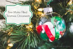 Making Christmas ornaments has long been a Christmas tradition for our family. I made ornaments every year as a kid and these days I am thoroughly enjoying making ornaments every year with my own kids. Today I'm sharing with you some super simple fun filled Christmas ornaments that Mr. C made. As a bonus it …