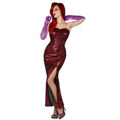 Disfraz de Jessica Rabbit #disfraces #carnaval