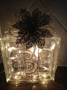 1000 Images About Glass Block Decorations On Pinterest