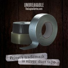 What is your trademark? #unbreakable #thelegionseries #kamigarcia #YAbooks #supernatural #paranormal *