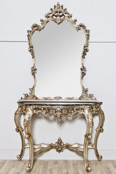 Antique furniture Your Palatial Home Marble top Consoles and
