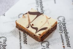Hand made caramel shortbread. Available to order, lovingly packaged and carefully delivered by Schop. Caramel Shortbread, Freshly Baked, Bakery, Delivery, Desserts, Handmade, Food, Tailgate Desserts, Deserts