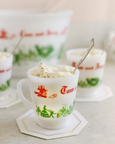 Make up one of the Christmas season's best cocktails with this classic Tom and Jerry recipe at The Sweetest Occasion!