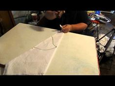 How to Tie dye a tapestry tutorial advanced techniques. Part 1. - YouTube