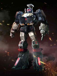 Autobot Trailbreaker Artwork From Transformers Legends Game