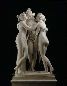 Antonio Canova: The Three Graces (Aglaia, Euphrosyne and Thalia)1815 - 1817