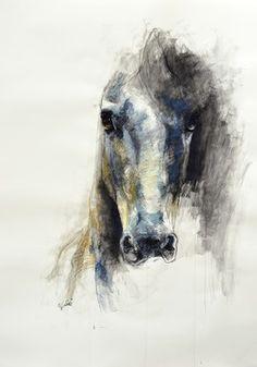 Saatchi Online Artist Benedicte Gele; Drawing, Alerte V #art