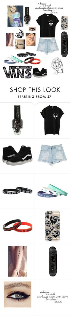 """""""Dreamer"""" by inspiration-center ❤ liked on Polyvore featuring Vans, Warner Bros. and Casetify"""