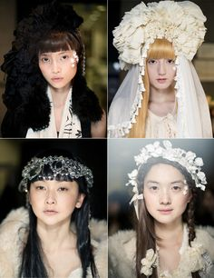 Headpieces from Tokyo Fashion Week 2011