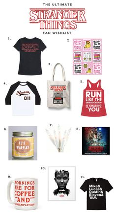 a8dcd817fd72d The Ultimate Stranger Things Fan Wishlist  StrangerThings Stranger Things  Quote, Stranger Things Merchandise,