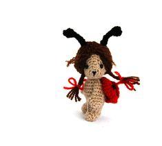 Crochet ladybug little ladybug doll insect doll ladybug collectible miniature ladybug amigurumi ladybug stuffed ladybug small bug Crochet Ladybug, Antique Decor, Handmade Items, Handmade Gifts, Lady Bug, Amigurumi Doll, Etsy Seller, Best Gifts, My Etsy Shop