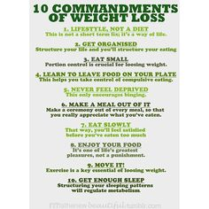 @go_healthy_motivation - Ten Commandments of Weight Loss. #fit#fitness#fitspiration#befitstayfitlivewell#healthy#motivation#dedication#determination#sweat#dowork#weightloss#losingweight#gettingfit#abs#fatburn#dontgiveup#exercise#fitspo#worthit#progress#getmoving#positive#getactive#beastmode#youcandoit